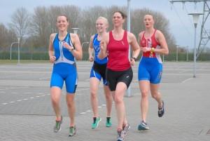 divsie zwemloop dames team