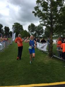 Een hele mooie finish voor Elsemieke