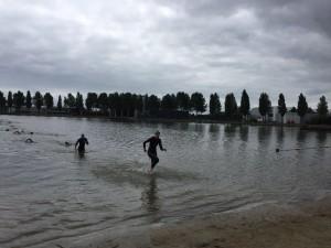 Jorinde goed uit het water